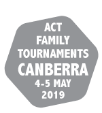 ACT Family Tournaments 4-5 May 2019