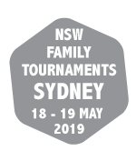 NSW Family Tournaments 18-19 May 2019